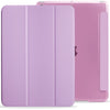 iPad 10.2 2019/2020 ( 7th & 8th Generation ) Case See Through Transparent Dual Cover - Purple