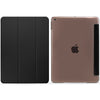 iPad 10.2 2019 ( 7th Generation ) Case See Through Transparent Dual Cover - Black