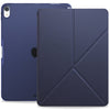 Origami Dual Case Cover For Apple iPad Pro 12.9 Inch 3rd Generation See Through Horizontal & Vertical Display - Navy Blue