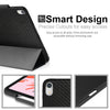 Dual Case Cover With Pen Holder For Apple iPad Pro 11 Inch Super Slim Support Pencil Charging - Carbon Fiber