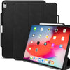 Dual Case Cover With Pen Holder For Apple iPad Pro 11 Inch Super Slim Support Pencil Charging - Leather Black