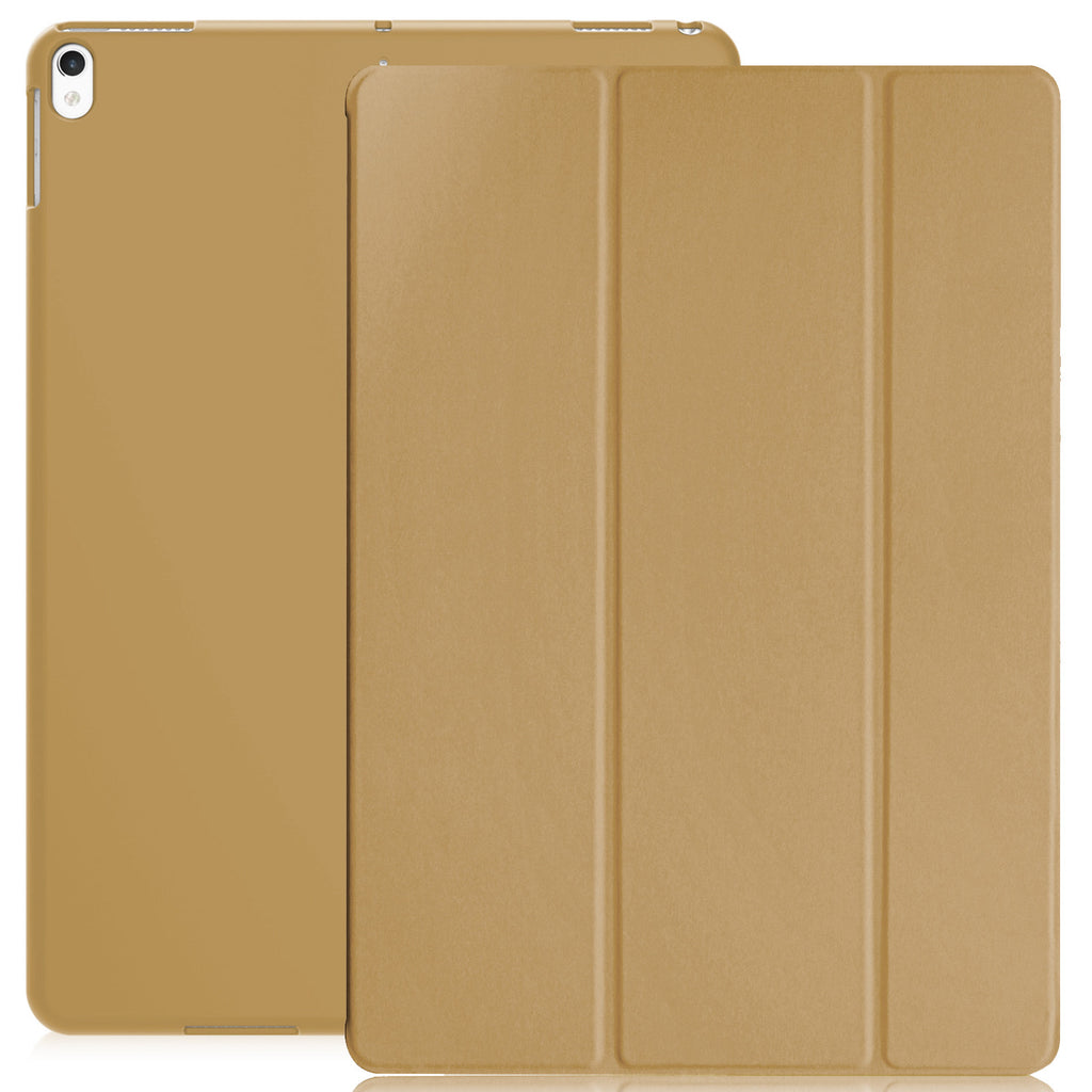 Dual Case Cover For Apple iPad Air 3 ( 2019 ) Super Slim With Smart Feature - Gold