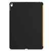 Dual Case Cover For Apple iPad Pro 10.5 Inches Super Slim With Smart Feature - Orange/Black