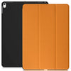 Dual Case Cover For Apple iPad Air 3 ( 2019 ) Super Slim With Smart Feature - Orange/Black