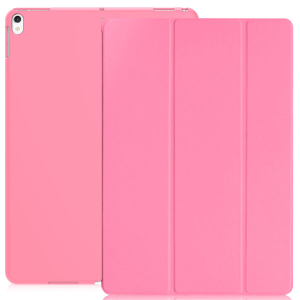 Dual Case Cover For Apple iPad Pro 10.5 Inches Super Slim With Smart Feature - Pink