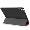 Dual Case Cover For Apple iPad Air 3 ( 2019 ) Super Slim With Smart Feature - Red/Black