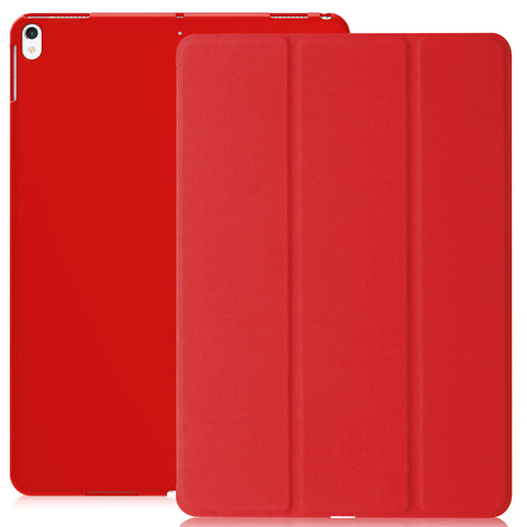 Dual Case Cover For Apple iPad Pro 10.5 Inches Super Slim With Smart Feature - Red