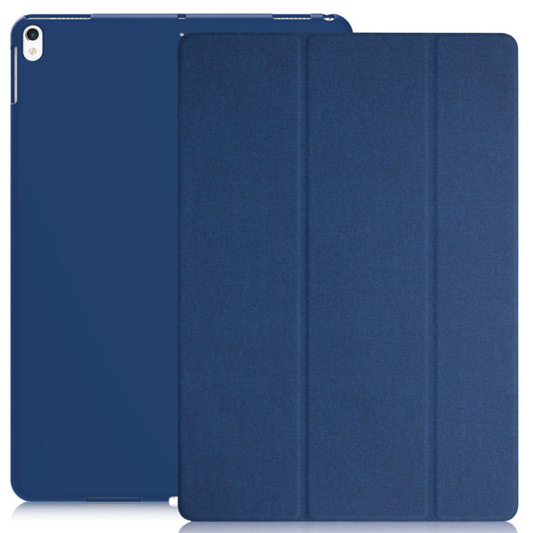 Dual Case Cover For Apple iPad Pro 10.5 Inches Super Slim With Smart Feature - Twill Blue