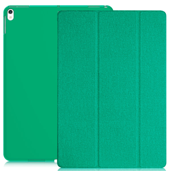 Dual Case Cover For Apple iPad Pro 10.5 Inches Super Slim With Smart Feature - Twill Green