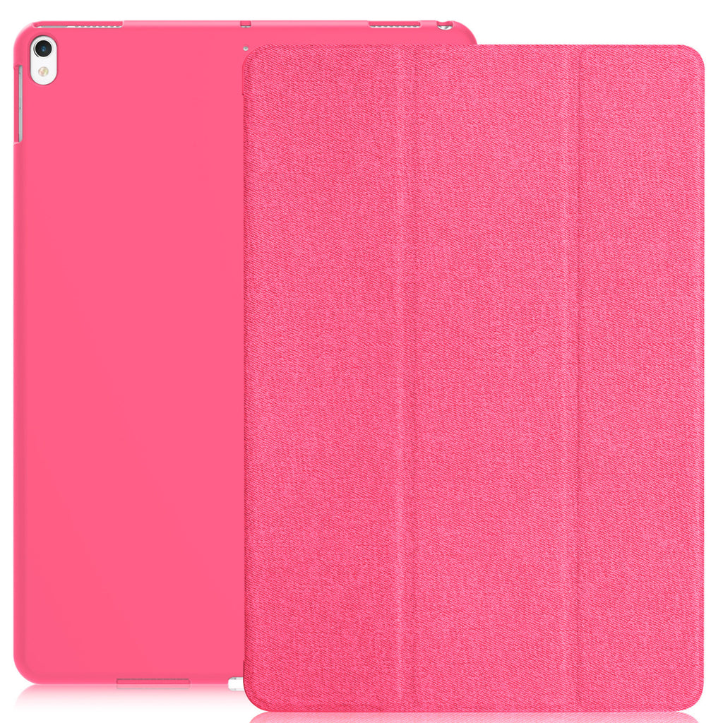 Dual Case Cover For Apple iPad Air 3 ( 2019 ) Super Slim With Smart Feature - Twill Hot Pink