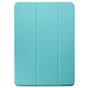 Dual Case Cover For Apple iPad Pro 12.9 Inch 3rd Generation  Super Slim With Rubberized Back & Smart Feature - Mint Green
