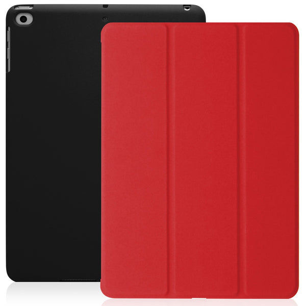 Dual Case Cover For Apple iPad 9.7 (2017 & 2018) - Red/Black