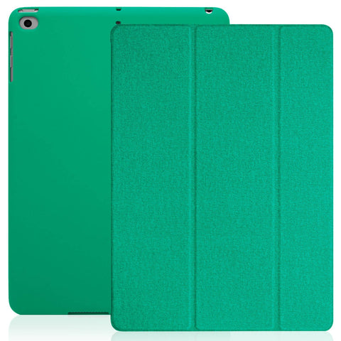 Dual Case Cover For Apple iPad 9.7 (2017 & 2018) Twill Green