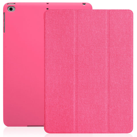 Dual Case Cover For Apple iPad 9.7 (2017 & 2018) - Twill Pink