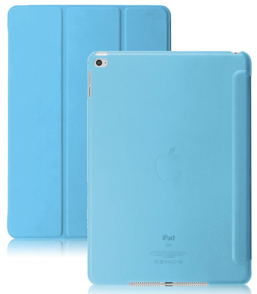 Dual Case With See-Through Back For Apple iPad Air 2 - Blue