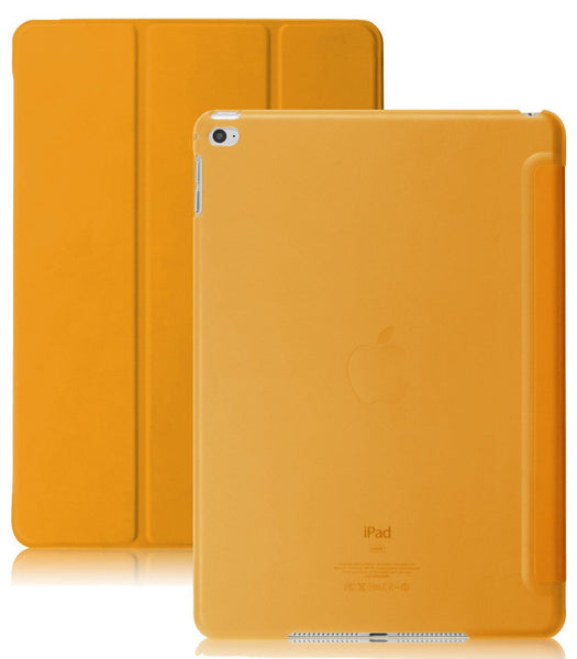 Dual Case With See-Through Back For Apple iPad Air 2 - Orange
