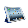 Dual Case For iPad Mini / Retina / Mini 3 - Twill Texture - Dark Blue