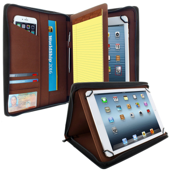 Universal PadFolio Case Black Executive Notepad Holder 8.5