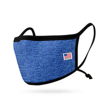 Load image into Gallery viewer, Made in USA Face Mask Adults and Kids Adjustable Ear Filter Pocket Washable Reusable 2 Layer Masks Cotton Cloth Filter Pocket