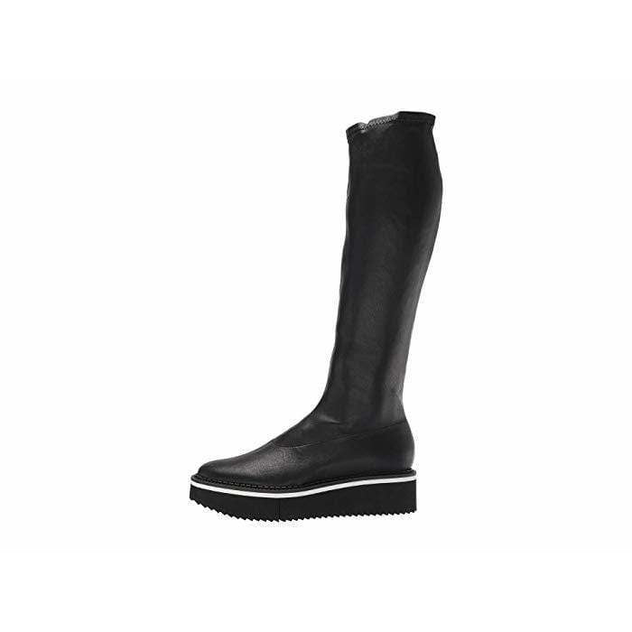 clergerie boots Platform knee high boots
