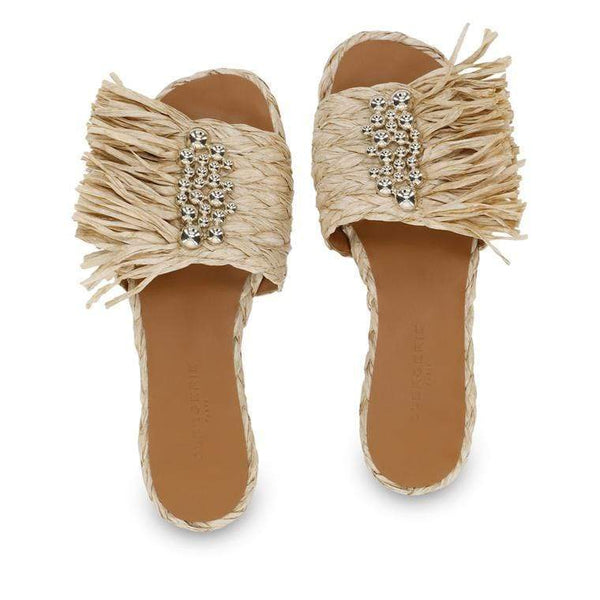 CLERGERIE Womens Shoes raffia mules