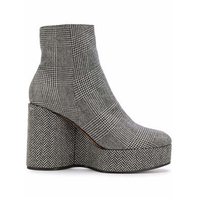 CLERGERIE Womens Shoes Wedge Ankle Boots
