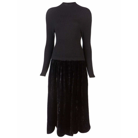 Comme des Garçons Dresses Black / S vintage long sleeves Dress