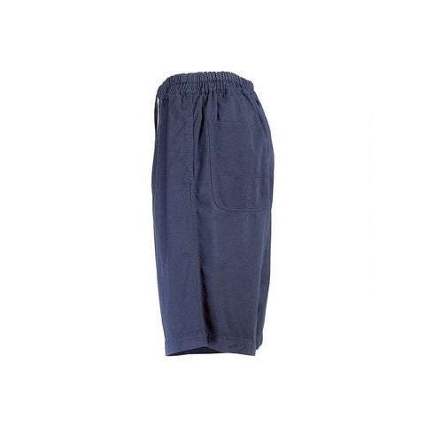 Comme des Garçons Womens Shorts One Size / Blue Long Drawstring Shorts