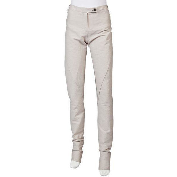 Tapered Linen Pants Womens Pants Damir Doma