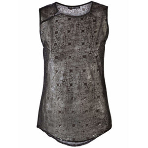 Floral Tank Womens Tops Helmut Lang