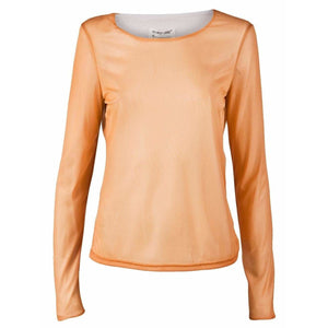Helmut Lang Womens Tops Orange / S T-Shirt