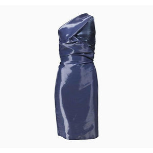 Hussein Chalayan Dresses 38 / Blue vintage One Shoulder Dress