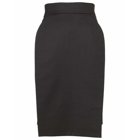 Hussein Chalayan Skirts 40 / Black Pencil Skirt
