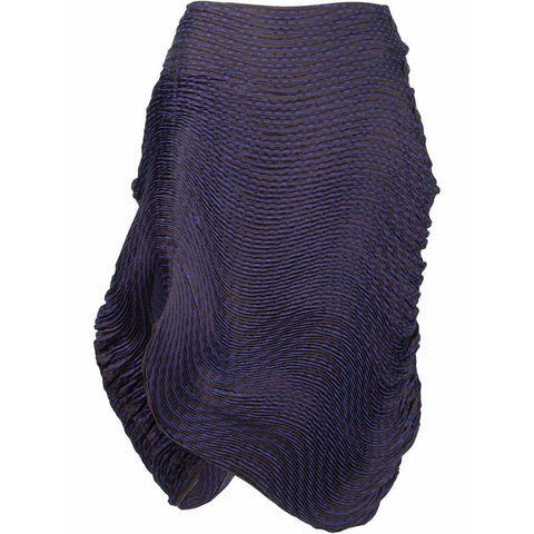 Issey Miyake Skirts 2 / Purple Pleated Skirt