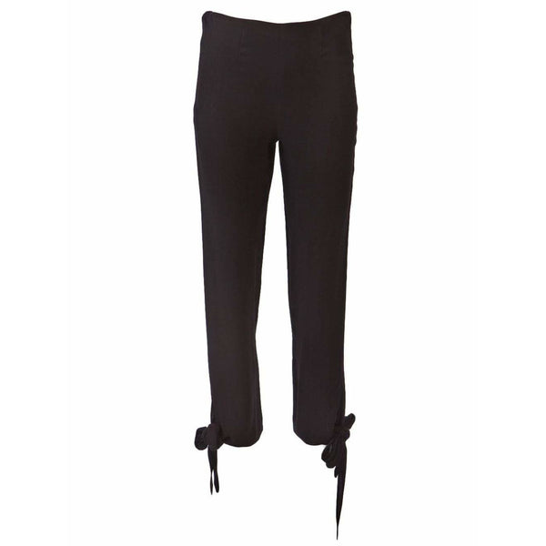 Jean Paul Gaultier Womens Pants 40 / Black Trouser