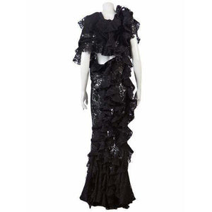 Junya Watanabe Vintage Lace Long Dress Shopname