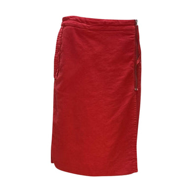 Maison Martin Margiela Skirt 6 / Red Maison Martin Margiela Wrap Skirt