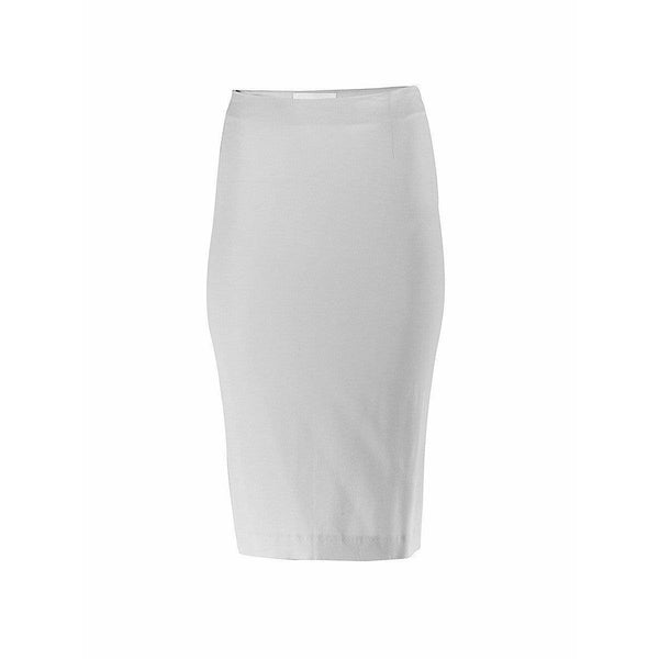 Maison Martin Margiela Skirts Medium / White Silk Midi Skirt