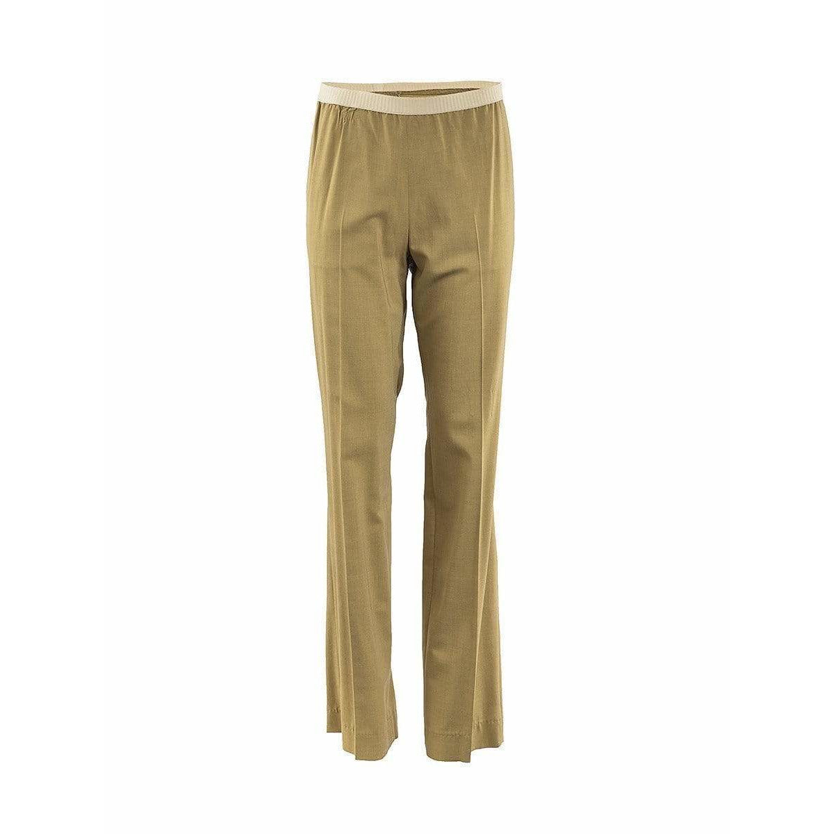 Womens Pants - Pleated Elastic Pant