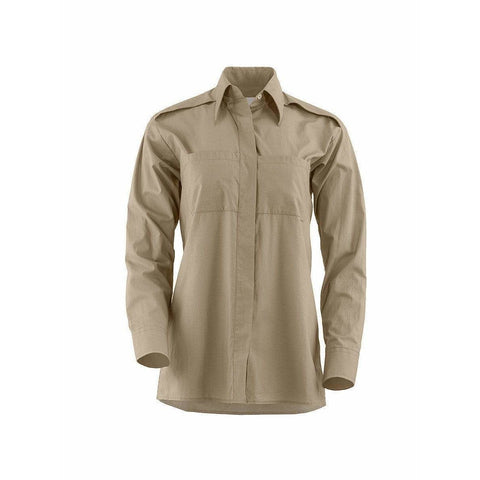 Maison Martin Margiela Womens Tops Medium / Beige Army Style Shirt