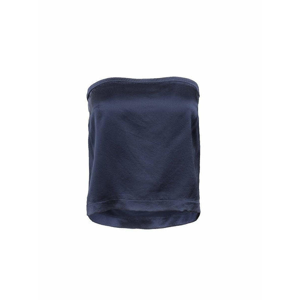 Maison Martin Margiela Womens Tops Small / Navy Tube Top