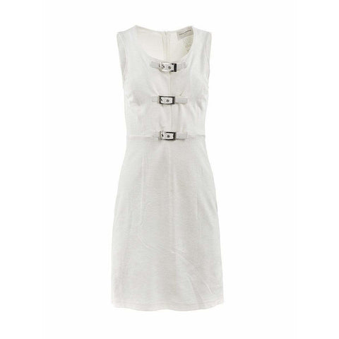 Paco Rabanne Dresses 40 / White Velvet Dress short