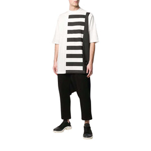 Rick Owens DRKSHDW men Mens Top Striped T-shirt