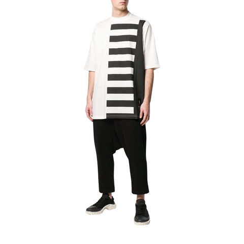Striped T-shirt Mens Top Rick Owens DRKSHDW men