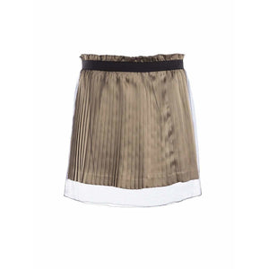 Undercover Skirts 2 / Brown Pleated Skirt