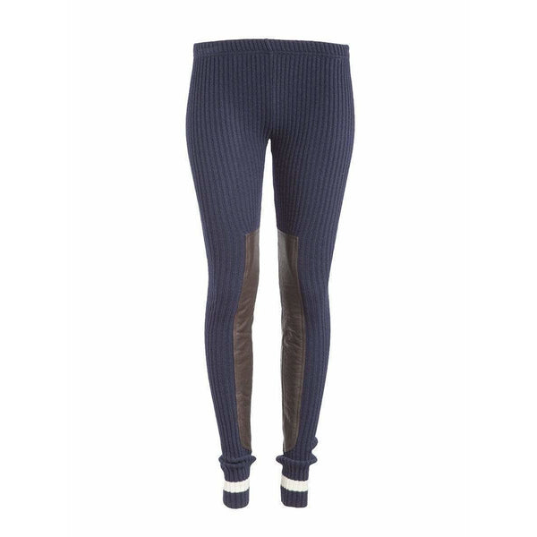 Undercover Womens Pants 2 / Navy Panel Leggings
