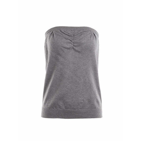 Undercover Womens Tops One Size / Grey Tube Top