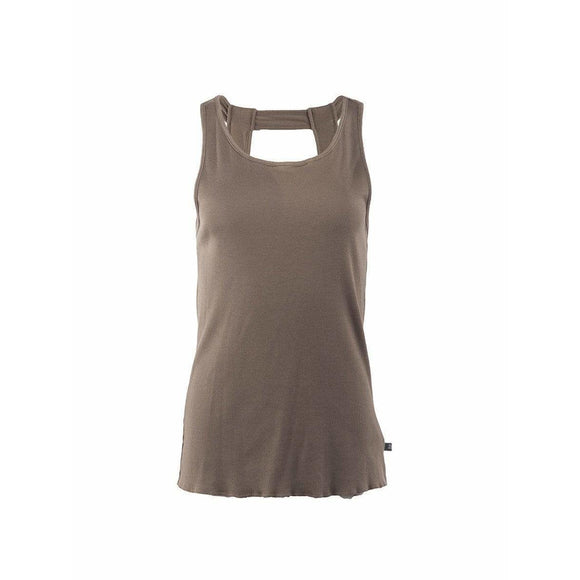 Undercover Womens Tops Small / Brown Cotton Tank