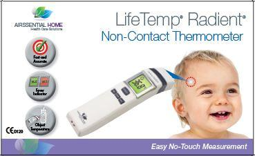 LifeTemp Radient Non Contact (Alternative is LifeTemp Non Contact) - Airssential Health Care