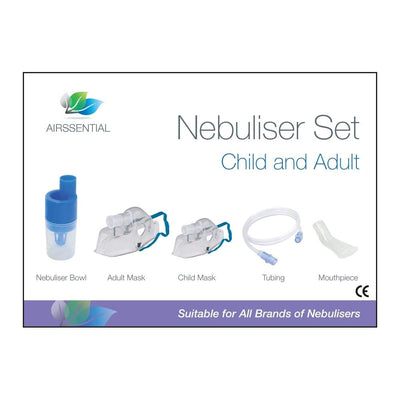 Nebuliser Set for Adult and Child - Airssential Health Care